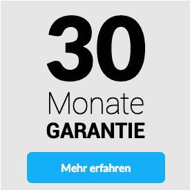 30 Monate Garantie