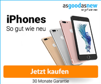 iPhone Banner – Werbemittel asgoodasnew