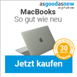 MacBooks Banner – Werbemittel asgoodasnew