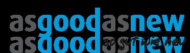 asgoodasnew Logo mit claim
