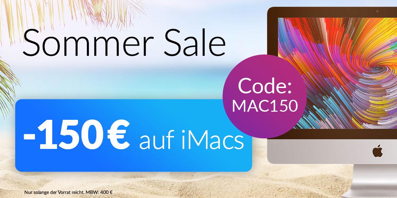 150 € iMac Aktion