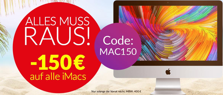 Alles muss raus 150€ iMac