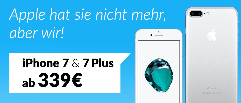 Teaser IPhone 7 Aktion