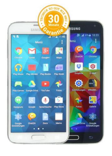 Samsung Galaxy S5 als Ratenkauf bei asgoodasnew finanzieren