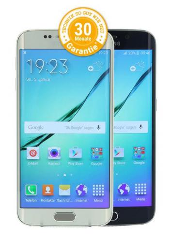 Samsung Galaxy S6 Edge finanzieren bei asgoodasnew