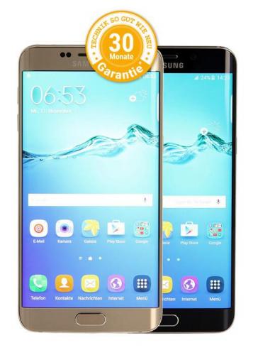 Samsung Galaxy S6 Edge Plus als Ratenkauf bei asgoodasnew finanzieren