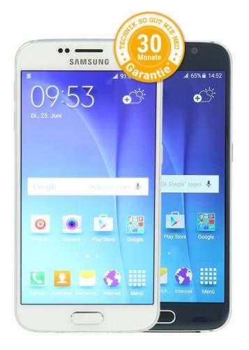 Samsung Galaxy S6 im Ratenkauf bei asgoodasnew finanzieren